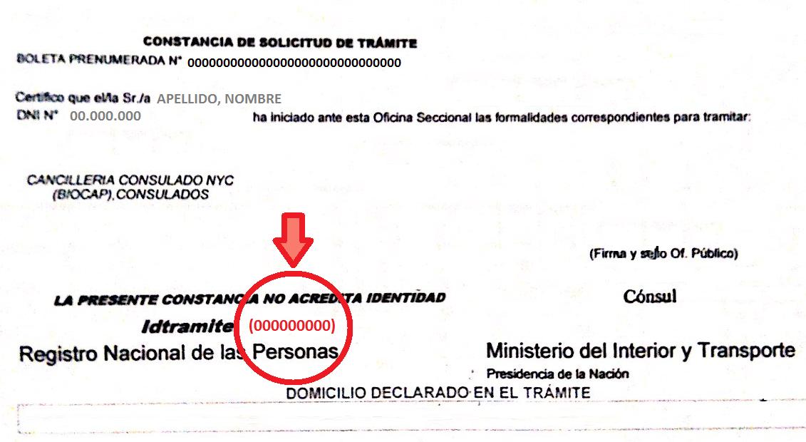 Para retirar su DNI y/o Pasaporte | Consulado General y Centro de ...